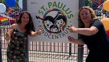 De Kleine Paulus opent én nieuw logo Paulusschool
